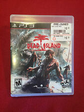 Sony Playstation PS3 Video Game Dead Island Rated M NICE
