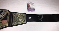Vince McMahon Signed WWE Championship Toy Belt JSA Authenticated