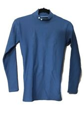 Under Armour Men's Cold-Gear Long Sleeve Compression Teal Blue Small NWT