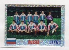 figurina USA 94 SERVICE LINE NUMERO 68 RUSSIA SQUADRA
