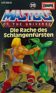 Masters Of The Universe - Folge 20 Die Rache des Schlangenfürsten MC | Kassette
