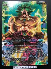 Carte Dragon Ball Super BROLY, SUPER SAIYAN LEGENDAIRE BT1-057 R DBZ FR NEUF