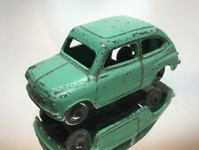 DINKY TOYS ENGLAND 183 FIAT 600 - GREEN 1:43 - GOOD CONDITION