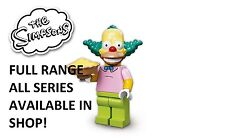 Lego minifigures krusty the clown simpsons series 1(71005) new factory sealed