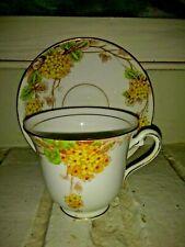 ROSINA ENGLAND FINE BONE CHINA TEA CUP & SAUCER