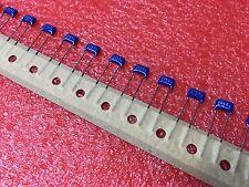 10 PCs Multilayer Ceramic Capacitor MLCC Leaded 0.1uF 100nF 104K 50V 5% Radial