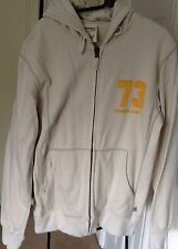 Timberland Men's Cream Hoodie Jumper. Size L