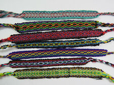 Freundschaftsarmband Set aus 3 Stück handgeknüpft Muster bunt Ethno UNISEX NEU!