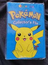 Pokemon Collector's File Funfax Folder 2000 NEW SEALED