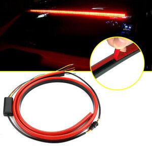 "40"" Car LED Rear Red 12V 3rd Brake Strip Driving Warning Light Turn Signal Lamp"