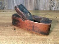 Antique Early Carpenters Wooden Block Plane Greenfield Tool Co?? Ca 1850 B7