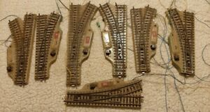 big lot of Turnouts switch and 35 M-Track Marklin for H0 scale Train Layout