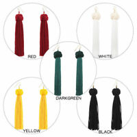 Fashion Long Tassel Hook Drop Dangle Earrings Women Bohemian Fringe Boho Earring