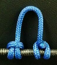 BCY #24 / 2MM 3 Pack BLUE Archery Release Bow String Nock D Loop Bowstring