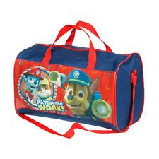 PAT PATROUILLE sac de sport voyage bleu et rouge  L 37 x H 23 x P 20 cm  neuf