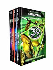 39 Clues Unstoppable Series 4 Books Collection Set