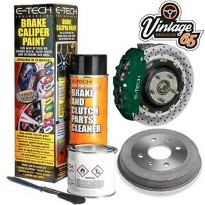 Classic Car Brake Drum & Caliper Ceramic Resin Enamel Paint Kit Racing Green