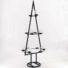 PTMD Teelichthalter Weihnachtsbaum Kerzenständer Pyramide Advent 684681