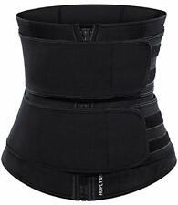 HOPLYNN Neoprene Sweat Waist Trainer Corset Trimmer Belt for Women Weight Loss,