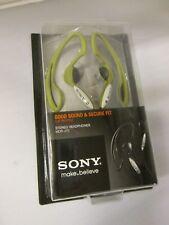 Sony MDR-J10 Green Over the Ear Headphones Non-Slip Design  MDRJ10 Green