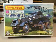 Matchbox 40085 Sd. Kfz 232 Armoured Radio Car 1:76 Sealed Box.