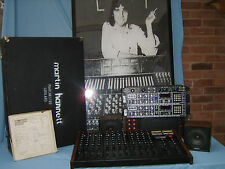 Martin Hannett's Vintage RITMO mm MIXER (Joy Division, U2), ecc. engineeer