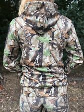 Ladies Hunting Soft Shell Jumper Realtree Style Pattern Brand New Small Size 8.