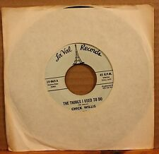 CHICK WILLIS Things I Used To Do THIS IS MY LIFE Northern Soul 45 on LA VAL 865