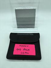 "Tiffen 4x4"" Linear Polarizer Filter Polarizing Filters MFR # 44POL"