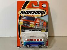 MATTEL MATCHBOX - VW TRANSPORTER - Highway Heroes - #12 - New in Package