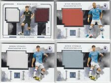Panini Impeccable Soccer Manchester City Patch Lot x4
