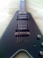 Schecter Flying V1 Blackjack Diamond Series with Seymour Duncan JB &59 pickups