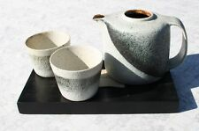Teekanne Becher Gerald + Gotlind Weigel Art Pottery Gabsheim Studio Keramik
