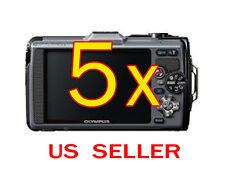 5x Olympus Stylus Tough TG-2 Digital Camera LCD Screen Protector Guard Shield