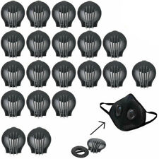 100Pcs Outdoor Anti-dust Face Mouth Filter Air Breathing Valves Replacemen LOT
