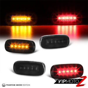 For 03-09 Dodge Ram 2500 3500 Dually Rear Fender Marker Bed Side Smoke LED Light
