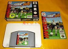 INTERNATIONAL SUPERSTAR SOCCER 64 Nintendo 64 N64 ISS PAL Europeo ○○○○○ COMPLETO