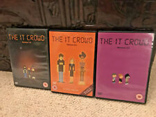 The IT Crowd DVD's Bundle Job Lot Series 1,2,3 Good Condition