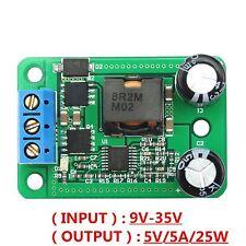 1PCS DC-DC Converter 24V 12V to 5V 5A 25W Step down Power Supply Module