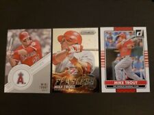 2013 Panini Fearless Mike Trout + 2 other cards. Nm-Mt+ Lot Non-Auto