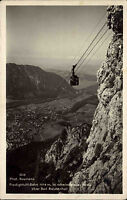 BAD REICHENHALL 1932 Seilbahn Bergbahn Predigtstuhl AK alte Postkarte Bayern