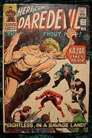 DareDevil 12 Good Condition Ka-Zar Lives Again! FREE Plastic Bag & White Board