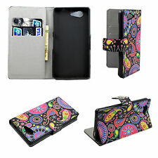 Wallet Leather Card ID Phone Cover Case Pouch For Sony Xperia Z3 Mini Compact