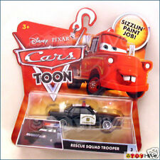 Disney Pixar Cars Toon Rescue Squad Trooper #3 police car
