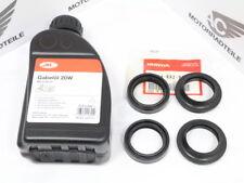 HONDA CB 650 SC NIGHTHAWK FRONT FORK Repair Kit Dust seal + FORK OIL 37 mm genuine