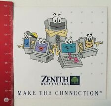 Pegatina/sticker: Zenith Data Systems-make the connection (200316180)