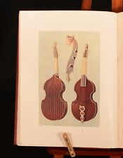 1945 Musical Instruments Historic Rare and Unique Hipkins Gibb Illustrated Colou