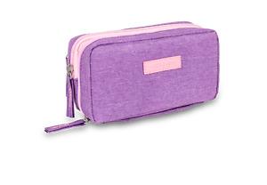 Elite Isothermal Cool Bag/ Case for Insulin and Diabetic Kit Organiser  - Violet