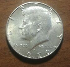 1970-D KENNEDY HALF DOLLAR 40 PCT SILVER