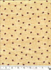 Tiny Country Apples - NEW Quilt Fabric - Free Shipping - 1 Yard